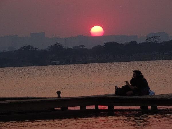 Pôr-do-sol do Ermida Dom Bosco