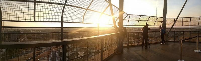 Pôr-do-sol da Torre de TV - Brasília