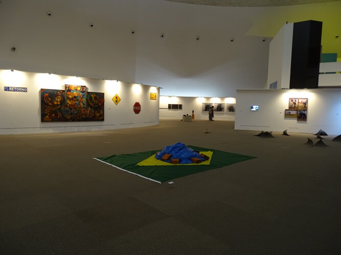 Exposições no Museu Nacional de Brasília
