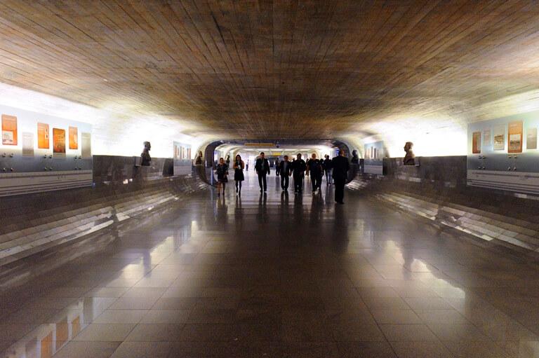 Túnel exposição permanente Congresso Nacional