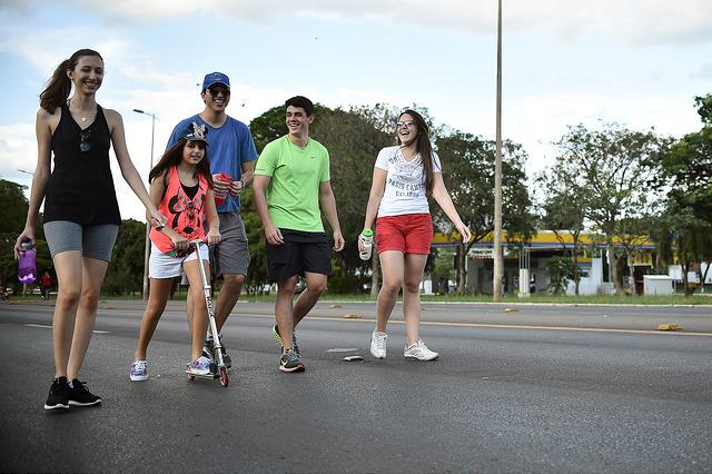 Eixão do Lazer em Brasília