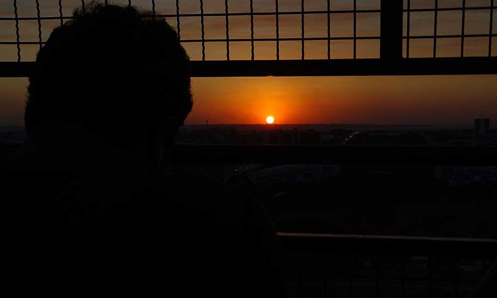 Por-do-sol Torre de TV Brasília