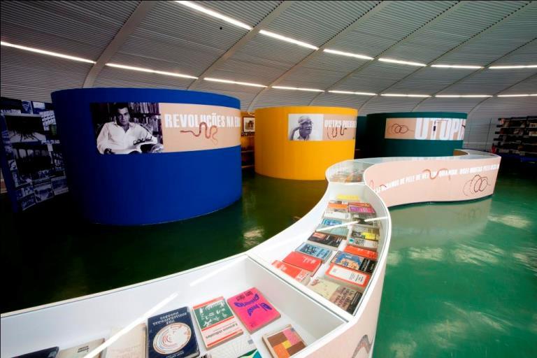 Exposição permanente - Memorial Darcy Ribeiro