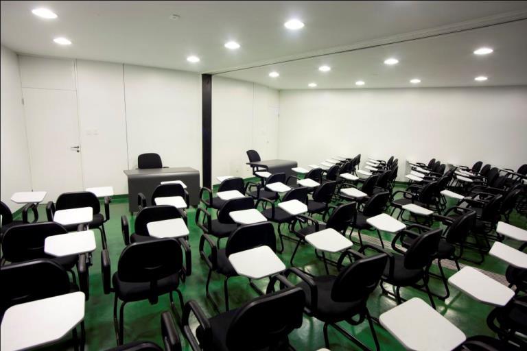 Salas de aula Memorial Darcy Ribeiro
