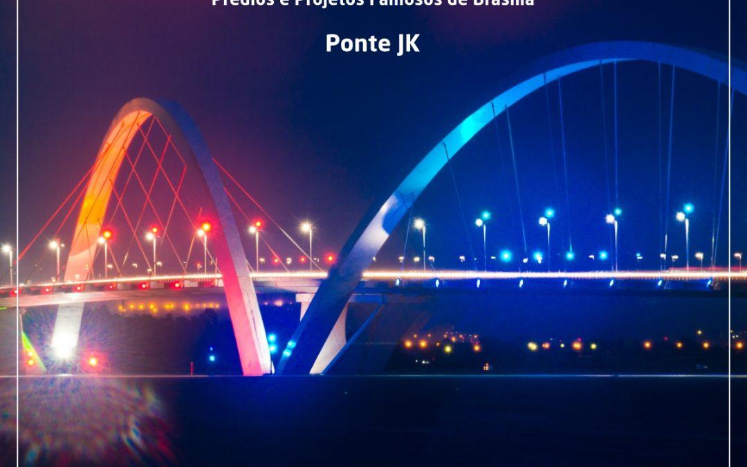 Ponte JK é um ícone da arquitetura moderna de Brasília