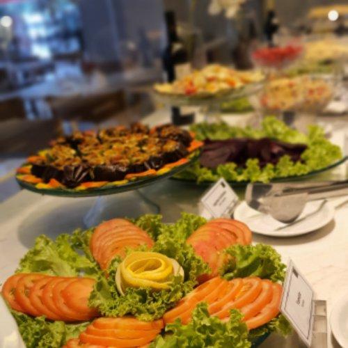 buffet de almoço let's
